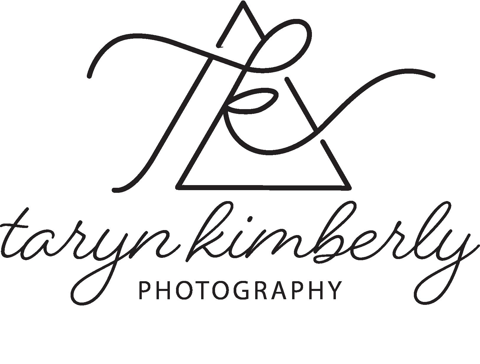 taryn kimberly photography logo in black